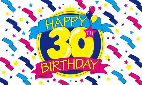 Happy Birthday Wishes 30 30th Birthday Birthday