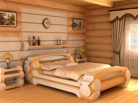 Eigenes Bett Bauen by Diy Machen Sie Ihr Eigenes Log Bett Diy
