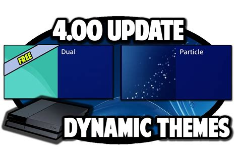 ps4 themes apple ps4 themes 4 00 update free dynamic themes video in