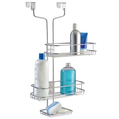 Interdesign Linea Over The Door Adjustable Shower Caddy Shower Caddy The Door
