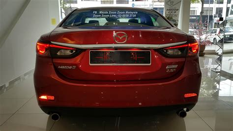 mazda 6 facelift now here 2 0 and 2 5 rm160k 199k image