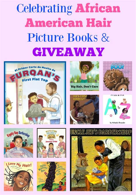 American Hair Books by Celebrating American Hair Picture Books
