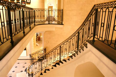 Railings For Stairs Inside Metalgraphic Interior Stair Railings Bel Air