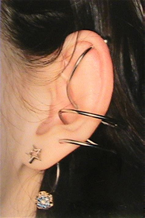 trident industrial piercing the gallery for gt trident vertical industrial piercing