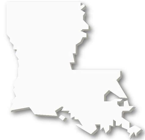 Louisiana Boot Outline by Louisiana Map Outline Clipart Best