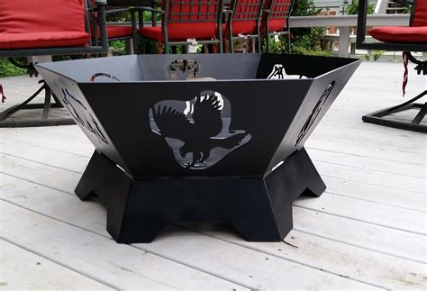 New Hexagon Fire Pit Fire Pits Fire Pit Grill Ideas Hexagon Pit