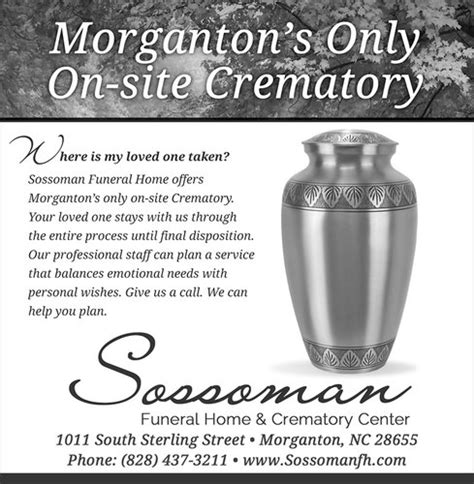 sossoman funeral home advertising vannoppen marketing