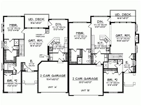 unique one story house plans floor plans for 3000 sq ft homes unique one story house