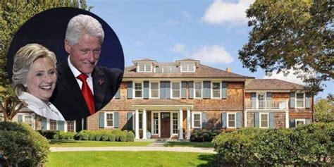 clinton hamptons real estate bill  hillary clinton