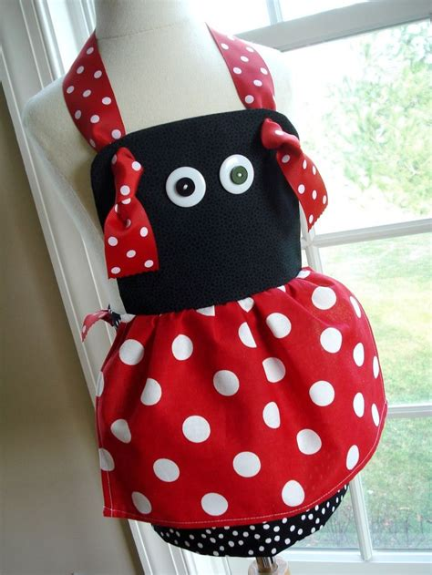 sewing bee apron pdf epattern bumble bee ladybug knot aprons for