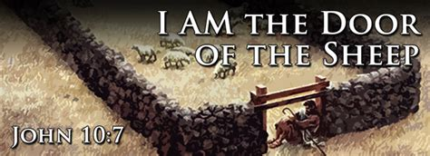I Am The Door by I Am The Door Of The Sheep Cus Bible Church