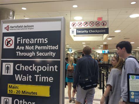 Atlanta School Records Atlanta Airport Surpasses Its Record For Guns Found At