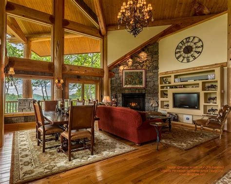 cabin living room furniture 22 luxurious log cabin interiors you to see log
