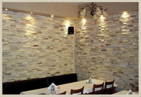 pietra decorativa per interni rivestimento soggiorno pietra idee per il design della casa