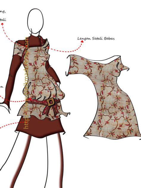 sketsa design gaun malam gambar desain baju jihan husna koleksi gambar hd