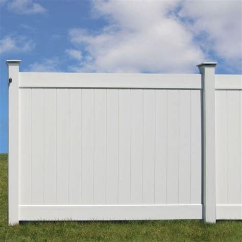 white vinyl fence white vinyl fence 10 image of clear