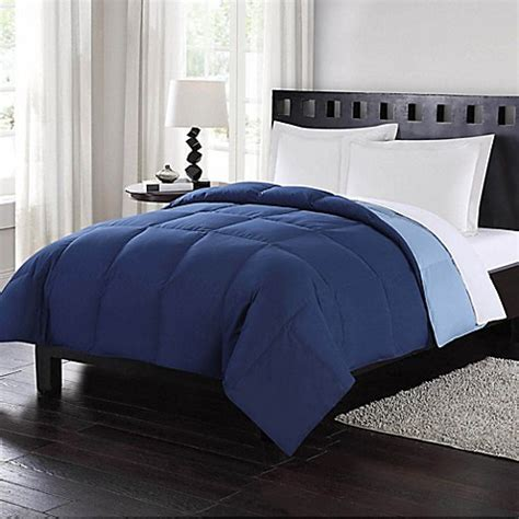 down comforter bed bath and beyond buy london fog 174 full queen reversible down comforter in