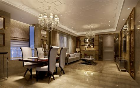 living room fully furnished 3d model max
