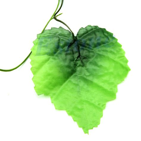 10pcs artificial grape leaves ivy vine fake flower leaf