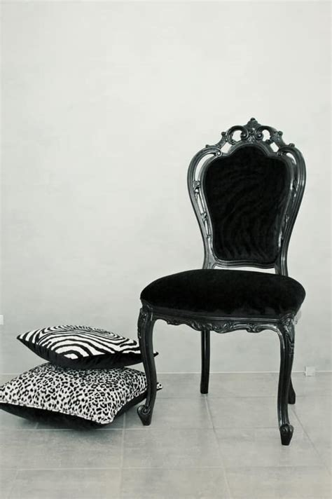 sedie classiche di lusso sedia color nero lucido dallo stile classico di lusso
