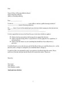 Letter For Housing Best Photos Of Sle Formal Letter Of Appeal Sle Appeal Letter Format Sle Appeal