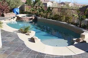 Big Backyard Pools Pools For Small Yards With Expose Brick Wall In Corner Design For Backyard Pool Superstore
