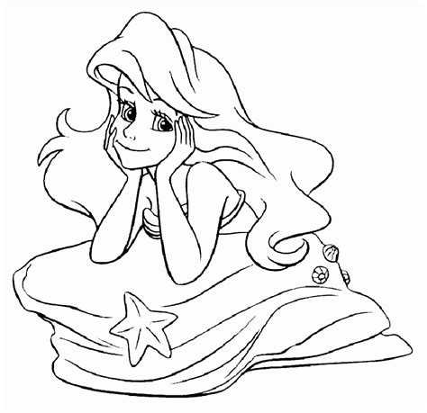 Ariel Winter Coloring Pages | ariel coloring pages disney 573859