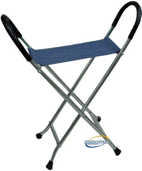 walking stick with seat nz folding alloy walking stick chair outdoor trail ltd