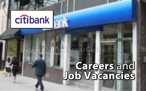 Citi Bank Mba Hiring by Citi Bank Careers And Vacancies