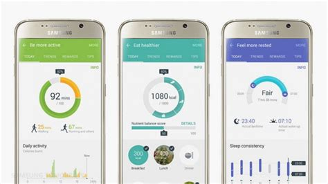 Samsung Health Samsung Health The Ultimate Guide To Getting Fit With Samsung S App
