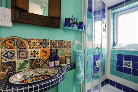badezimmer im strand stil marokkanische fliesen faszinierende fotos archzine net