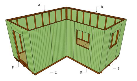 how to build a lean to roof for shed how to install shed