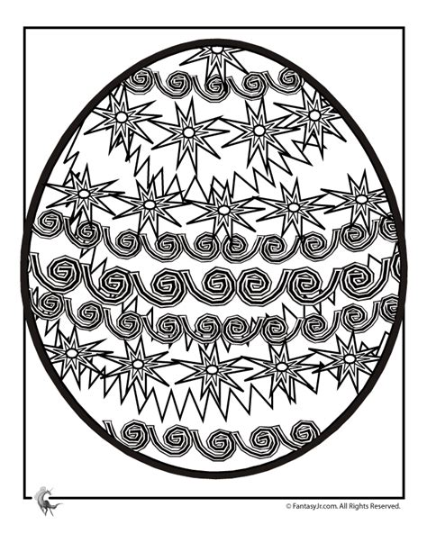 intricate easter coloring pages easter egg coloring page 2 woo jr kids activities