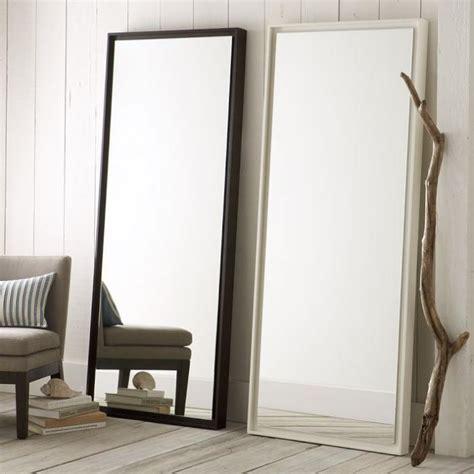 floating wood floor mirror remodelista