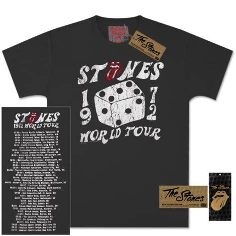 T Shirt Best Tour Around The World rolling stones 1972 dice vintage tour t shirt