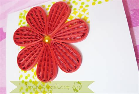 flower tutorial paper quilling quilling comb flower tutorial the crafty angels