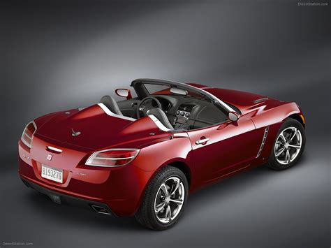 saturn sky red 2009 saturn sky red line exotic car image 04 of 24