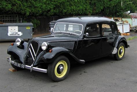 Citroen Traction Avant For Sale by 1952 Citroen Traction Avant 11b Normale For Sale On Bat