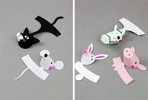 paper finger puppets templates farm animal finger puppets mr printables