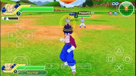 dragon ball  tenkaichi tag team ultra  ppsspp psp cso  android terbaru   mod