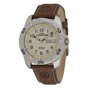 buy cheap timex men s brown with black