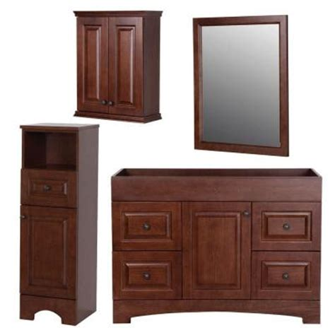 Vanity With Tower by St Paul Summit Bath Suite With 48 In Vanity With Vanity