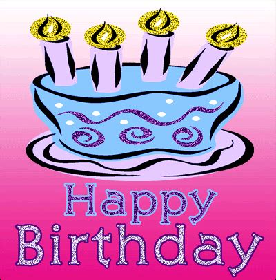 Happy Birthday Wishes Animated Gif Moving Animated Happy Birthday Greeting Images Birthday