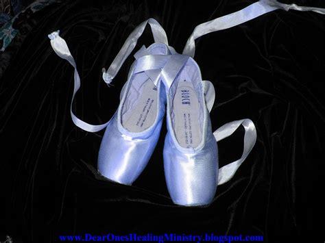 blue ballet shoes dear ones healing ministry quot beautiful blue ballet pointe