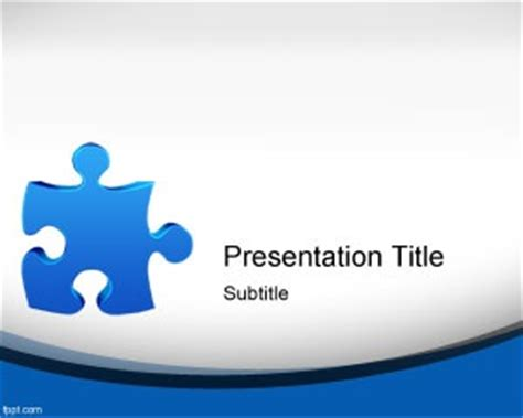 25 Best Games Powerpoint Templates Images On Pinterest Free Powerpoint Templates Puzzle Pieces