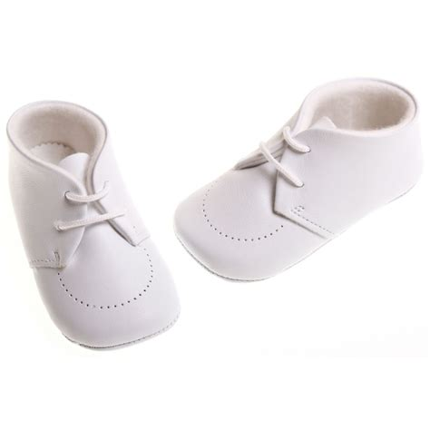 white shoes for baby baby boys white leather cuquito shoes cachet