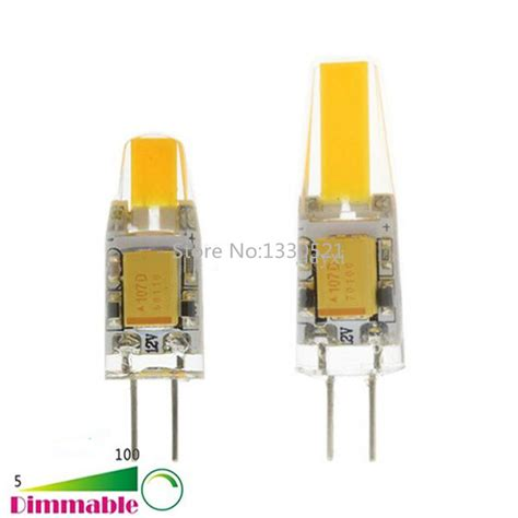 new bombillas g4 led light dimmable ac dc 12v 3w 5w