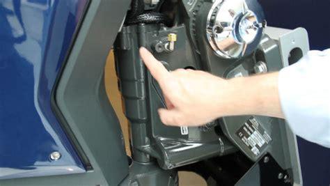 Manual Trim And Tilt System Adjustment