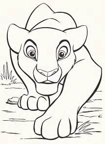 disney character coloring pages walt disney coloring pages nala walt disney characters