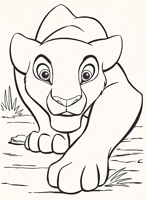Large Coloring Pages To Print by Large Disney Coloring Pages Free Printable